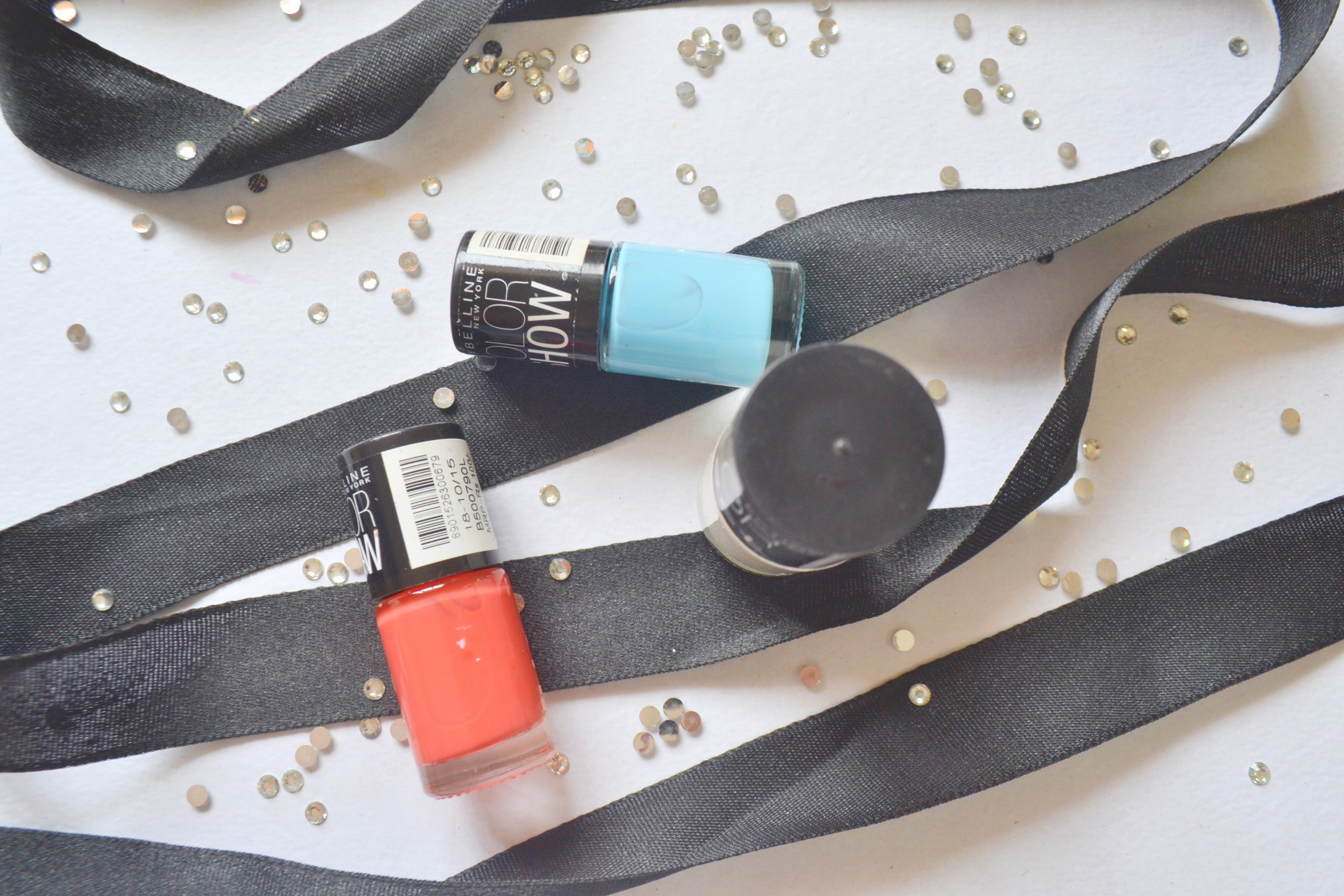Color Show Summer Nail Polish Shades
