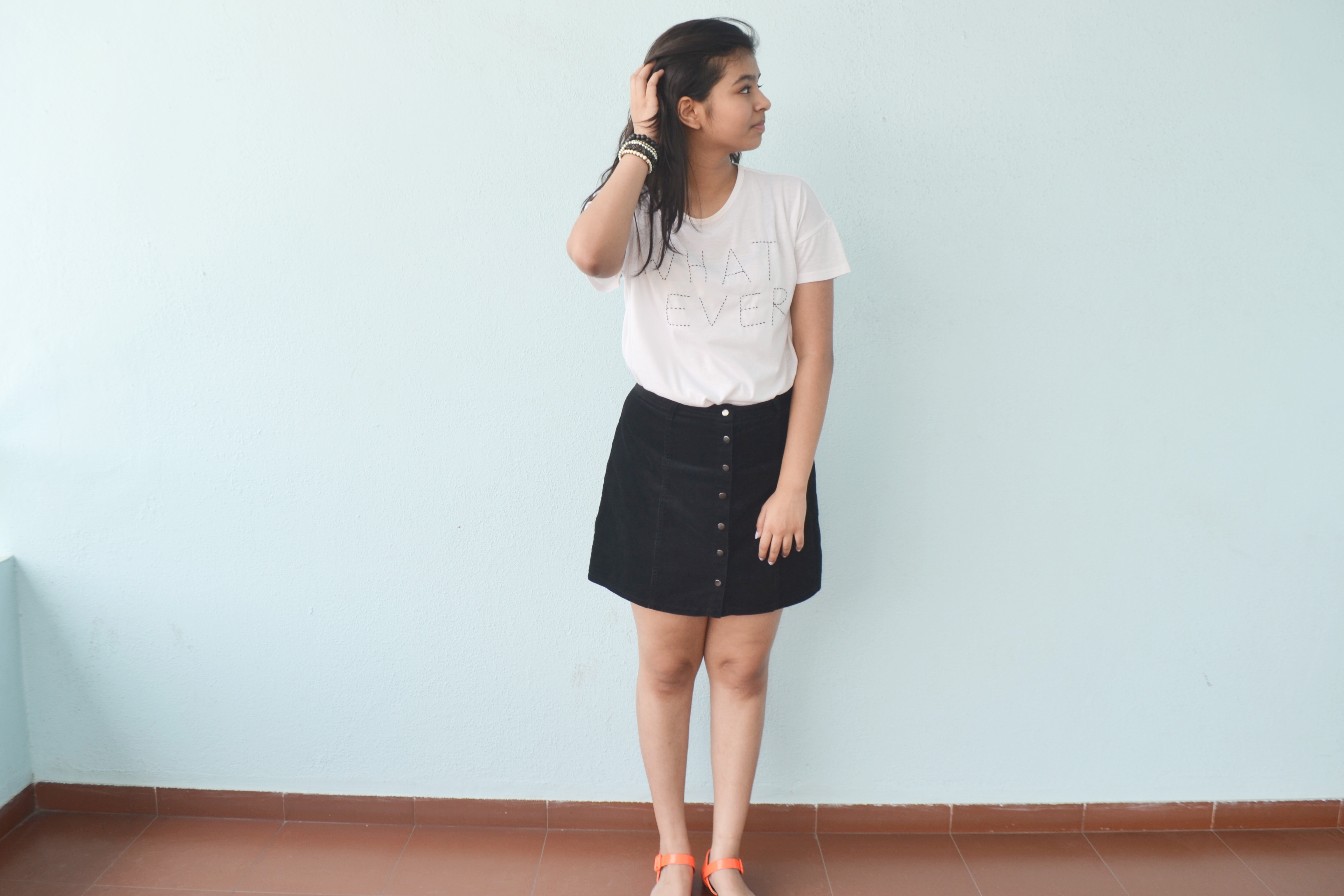 How To Style: Button-Up Skirt